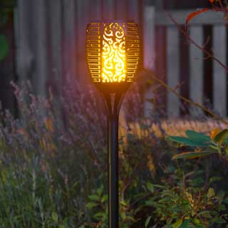 "Solar Light ""Tiki"""