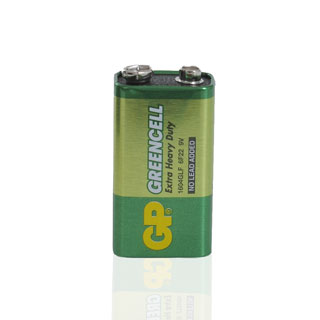 Green Cell batteri, 9V, 1 st.