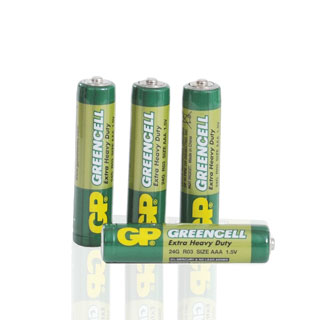 Green Cell motorbatterier, R03 AAA, 4-pack