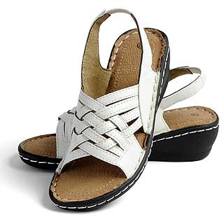 ISL Shoes Sandalett Betty, vit
