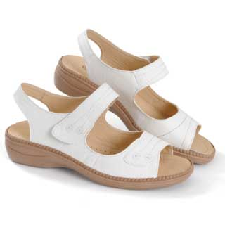 ISL Shoes Sandal Priscilla, vit