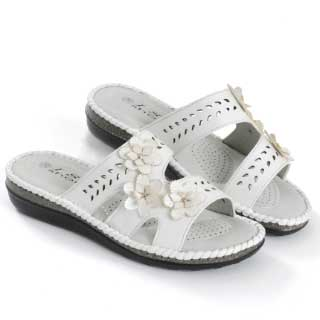 ISL Shoes Sandal Johanna, vit