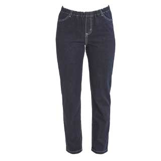 Select Woman Stretchjeans Denim mörkblå