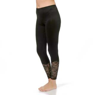Select Woman Tights Vanessa, svart