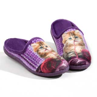 ISL Shoes Damtofflor Kitten