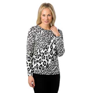 Select Woman Topp Leopard